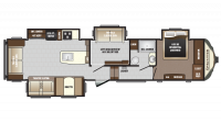 2018 Sprinter Limited 357FWLFT Floor Plan