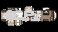 2018 Sprinter Limited 357FWLFT Floor Plan