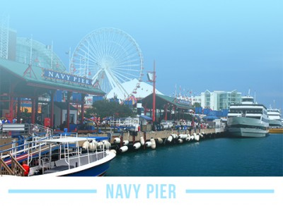 The Navy Pier in Chicago