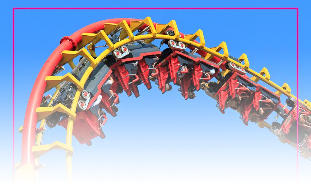 Cedar Point - the roller coaster capital of the world!