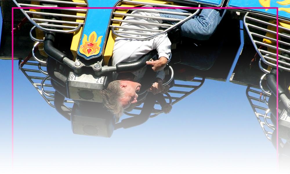 Roller coaster thrill rides