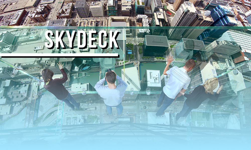 Visit the Skydeck in Chicago