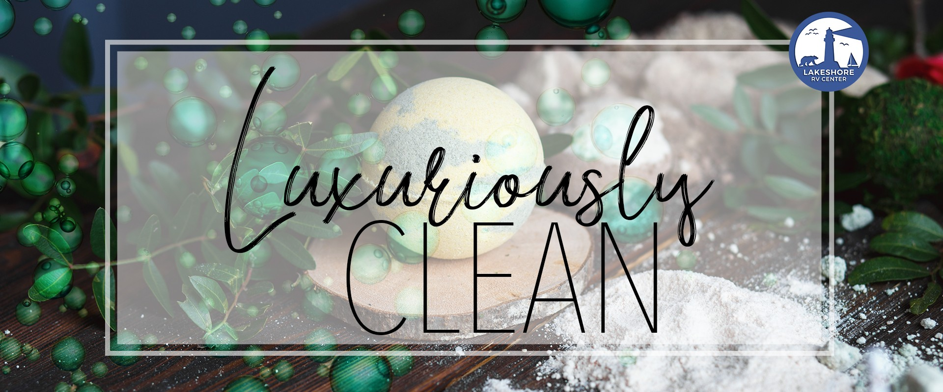 Luxuriously clean - bath bombs for cleaning