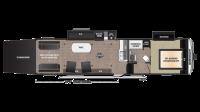 2019 Impact 3219 Floor Plan