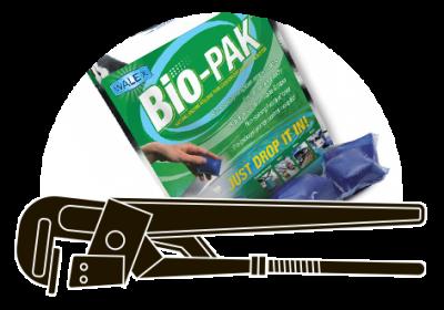 Walex Bio-Pak Natural Holding Tank Deodorizer and Waste Digester