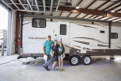 Zack Coulter of Little Rock, AR with their Passport Grand Touring 2650BH