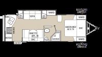 2014 Freedom Express 246RKS Floor Plan
