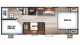 2017 Grey Wolf 22MKSE SPECIAL EDITION Floor Plan