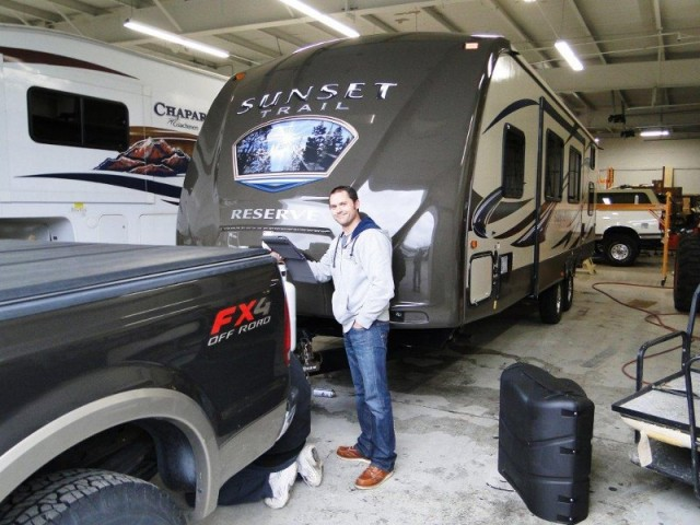 Paul of Lakeville with their Sunset Trail Reserve ST32BH