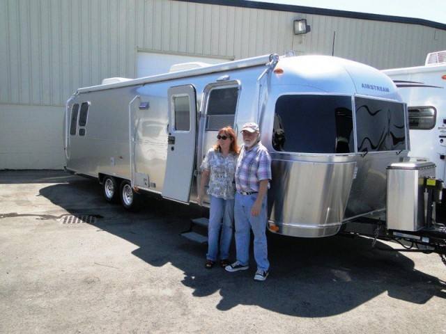 Ken of Manchester with their Airstream International Signature 23FB