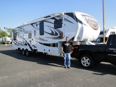 Scott of Naperville with their Cyclone CY3612