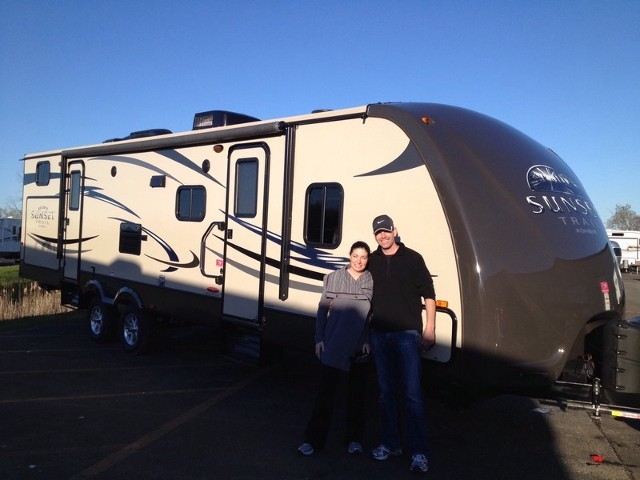 Terry of Dorr with their Sunset Trail Reserve ST32BH
