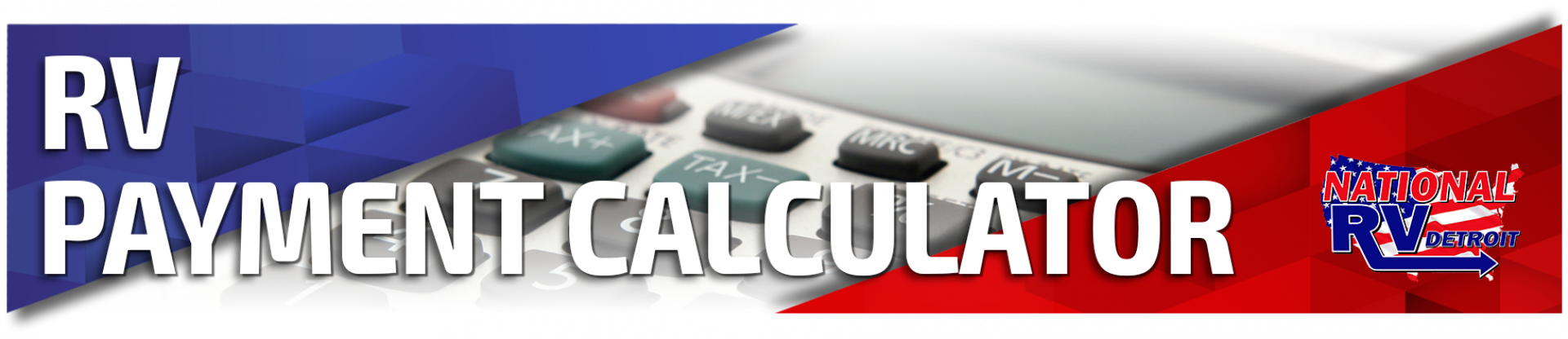 RV Payment Calculator National RV Detroit