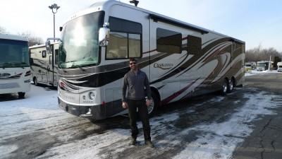 Donnie of Ste Martine with their Charleston 430BH-450