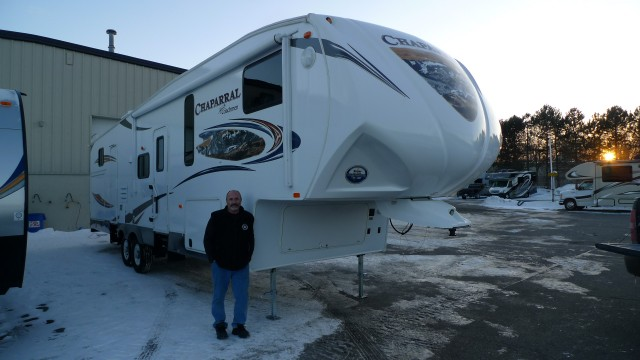 Kris of Lakeville with their Chaparral 345BHS
