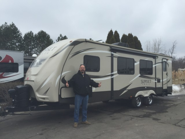 Tim of New Bremen with their Sunset Trail Super Lite ST270BH