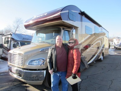 Gary of Fredonia with their Seneca 37TS