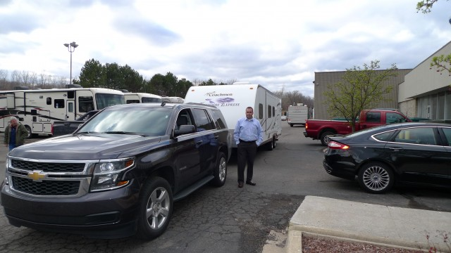 Brian of Stephenville Crossing with their Freedom Express 300BH