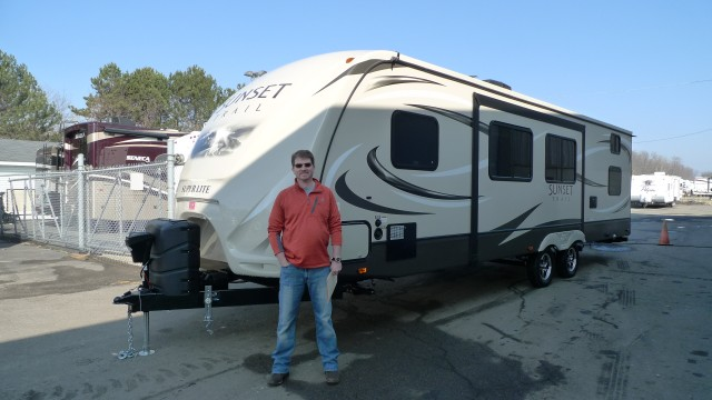 Floyd of BATTLE CREEK with their Sunset Trail Super Lite ST290QB