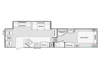 2003 Cougar 285EFS Floor Plan