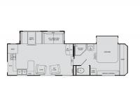 2009 Sundance 2900RK Floor Plan