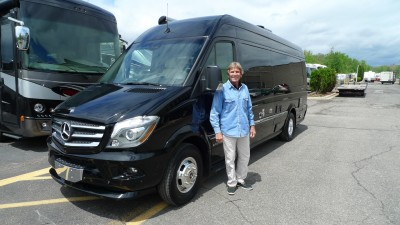 Bob of Ypsilanti with their Airstream Interstate EXT LOUNGE