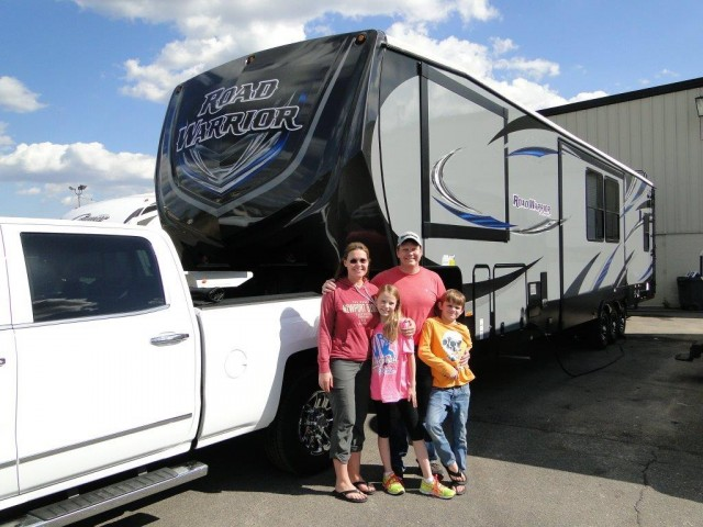 William of Manitou Springs with their Road Warrior RW420