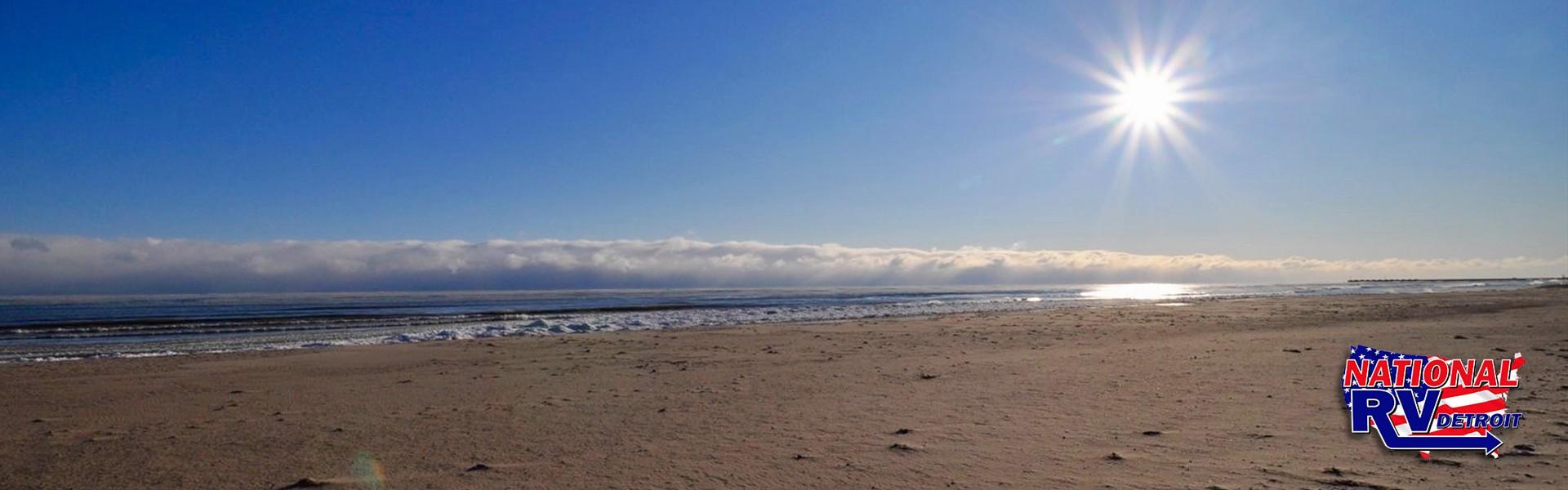 Cheboygan State Park beach view
