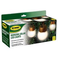 Ideaworks Solar-Powered LED Accent Light