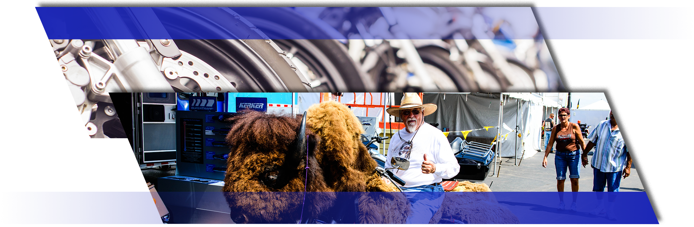 motorcycles man buffalo