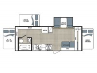 2018 Kodiak Ultra Lite 222ES Floor Plan