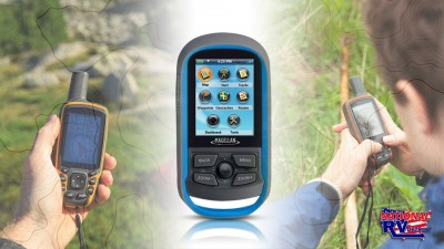Hiking GPS Navigation Systems Feature