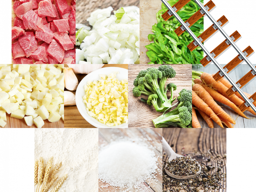 Steak Stew Ingredients