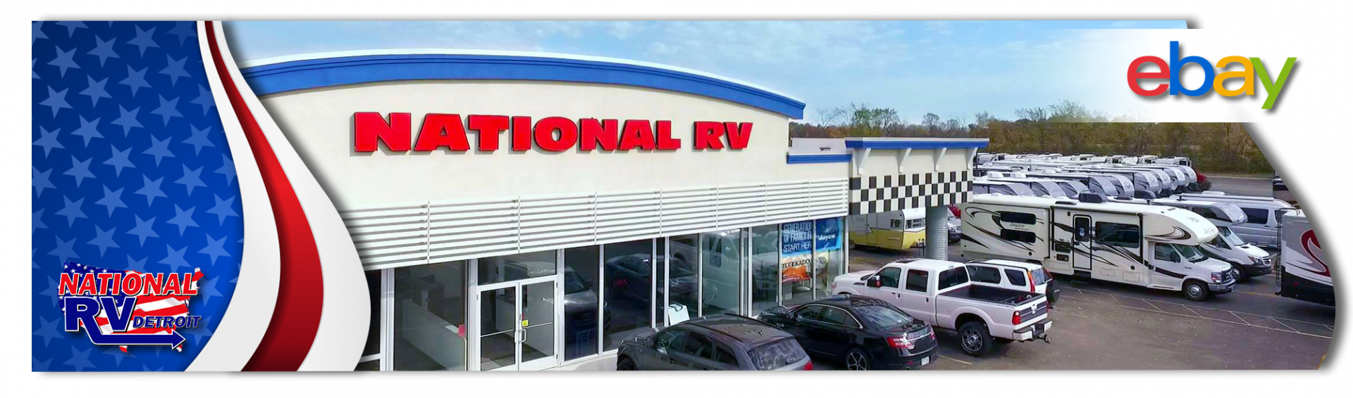 America the Beautiful RV Sales Event. Shop now on ebay at National RV!