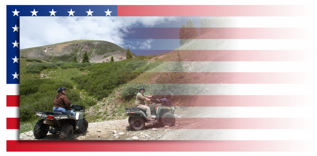 Enjoy the outdoors on your ATVS made possible by your toy hauler RV