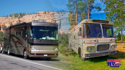 Trade in you old RV for a new one