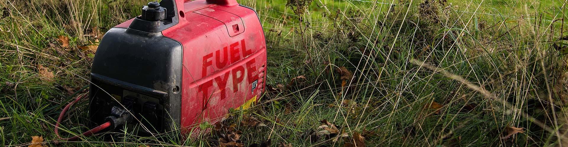 gas or diesel generator