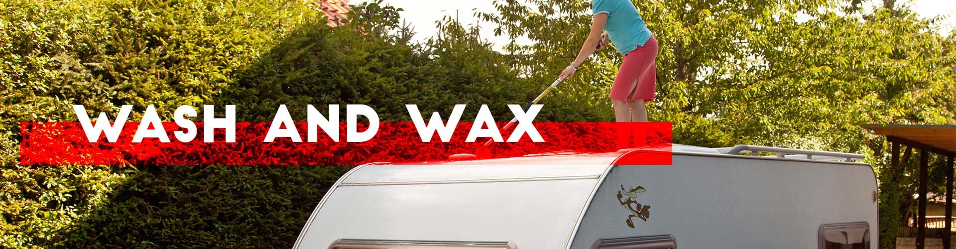 wash and wax your rv