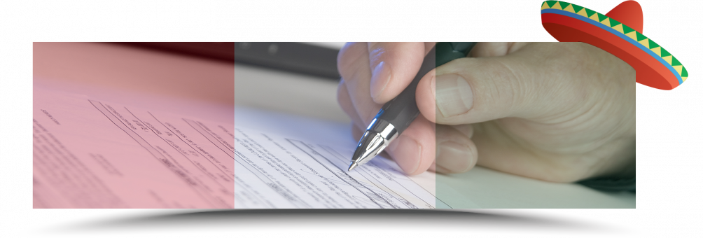 signing insurance papers