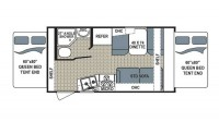 2017 Kodiak Ultra Lite 172E Floor Plan