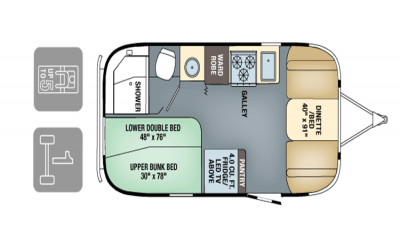 Airstream FlyingCloud 2017 19Bunk FP