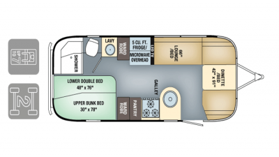 Airstream FlyingCloud 2017 23DBunk FP