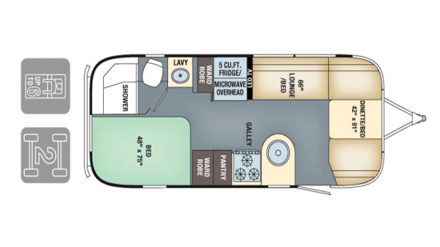 Airstream InternationalSerenity 2017 23D FP