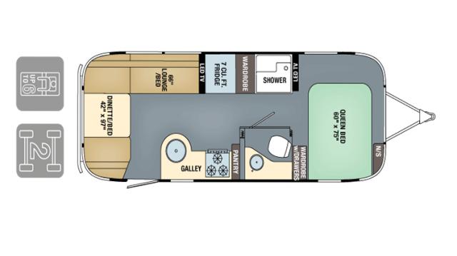 Airstream InternationalSignature 2017 25FB FP