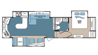 2017 Denali 293RKS Floor Plan