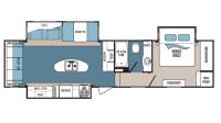 2017 Denali 335RLK Floor Plan