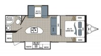 2018 Kodiak Ultra Lite 253RBSL Floor Plan