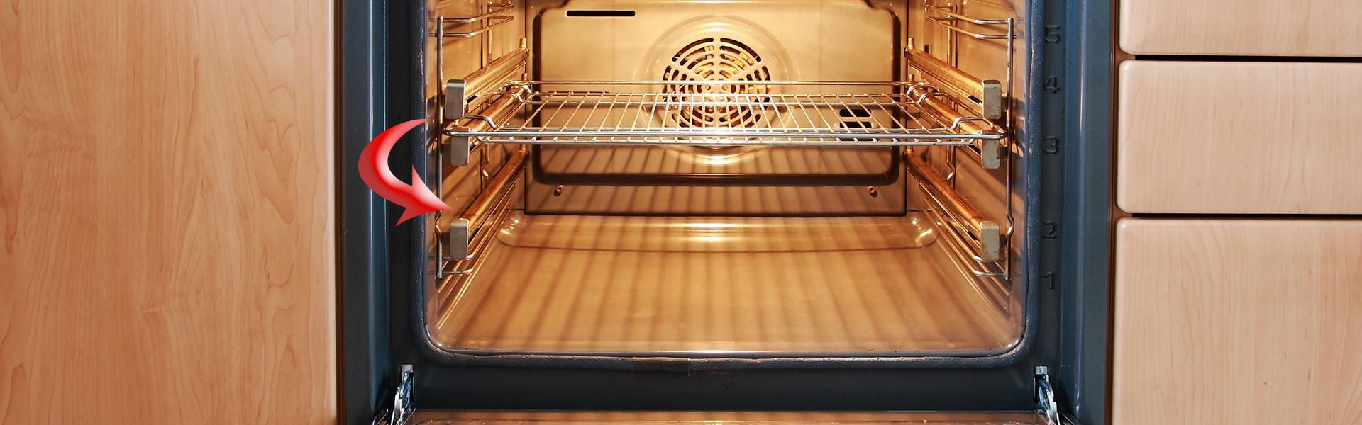 adjusting oven racks