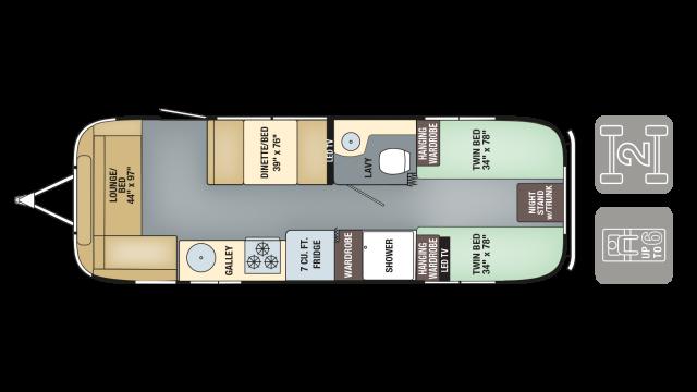 Airstream internationalsignature 2017 28twin fp