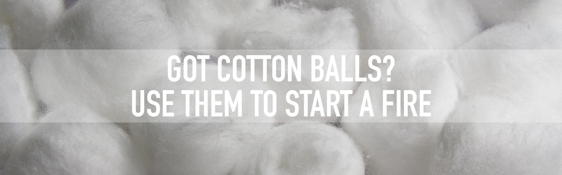 got cotton balls